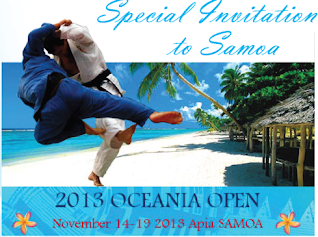 Oceania Judo Union Open 2013